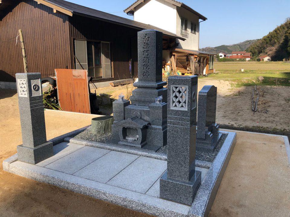 雲南市でお墓を建てさせて頂きました。